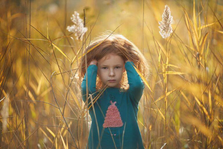 Детская осенняя фотосессия в Киеве